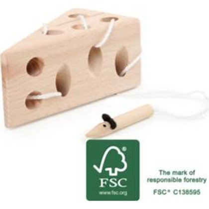 Small Foot Toys - Threading Mouse and Cheese