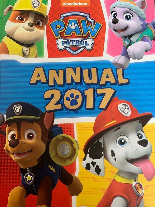 Paw Patrol Annual 2017