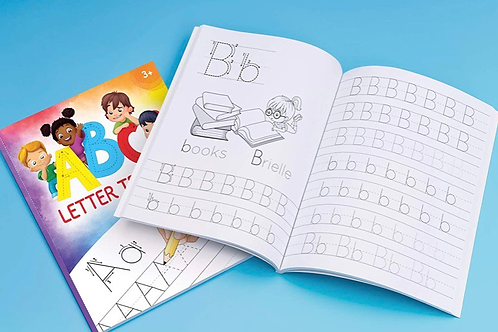 ABC Letter Tracing for Preschoolers: A Fun Book to Practice Writing for Kids Age