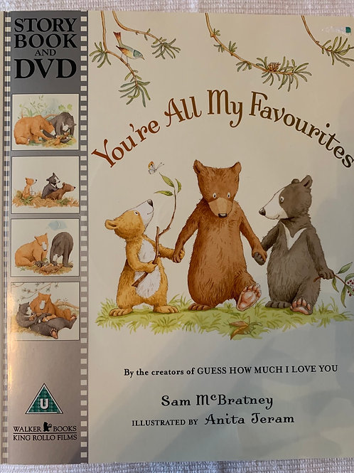 You're All My Favourites - Story Book and Dvd