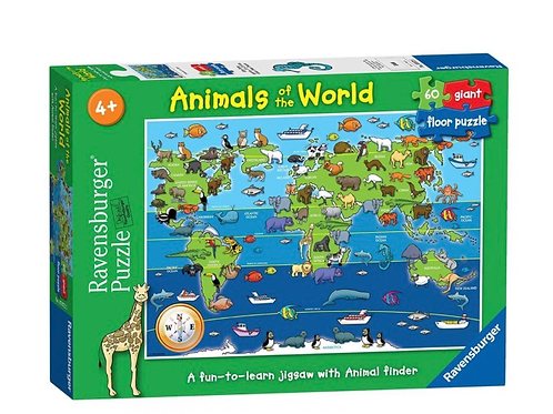 Ravensburger Animals of the World Giant Floor Puzzle 60 Piece