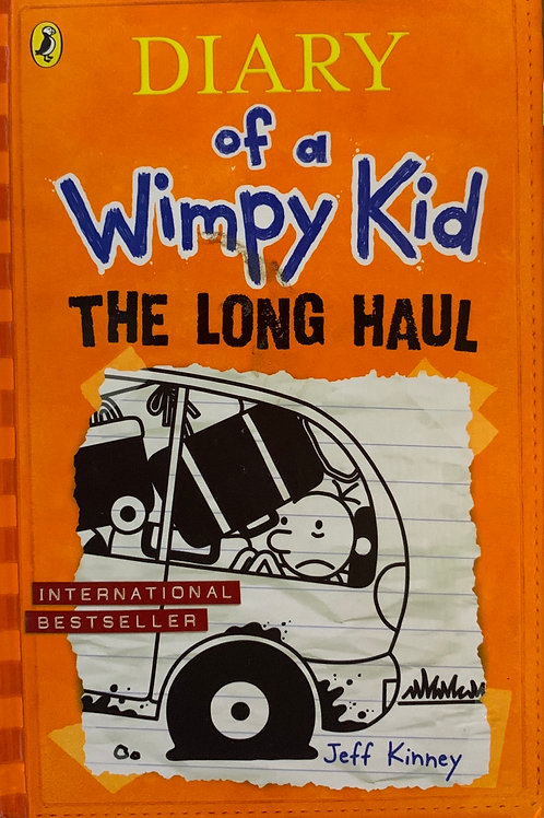 Diary of a Wimpy kid The Long Haul Hardback - Jeff Kinney