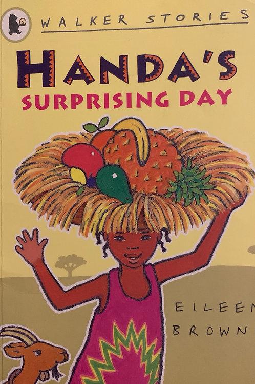 Handa's Surprising Day ( Eileen Browne )