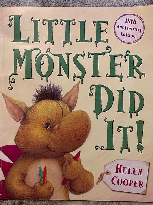 Little Monster Did It
