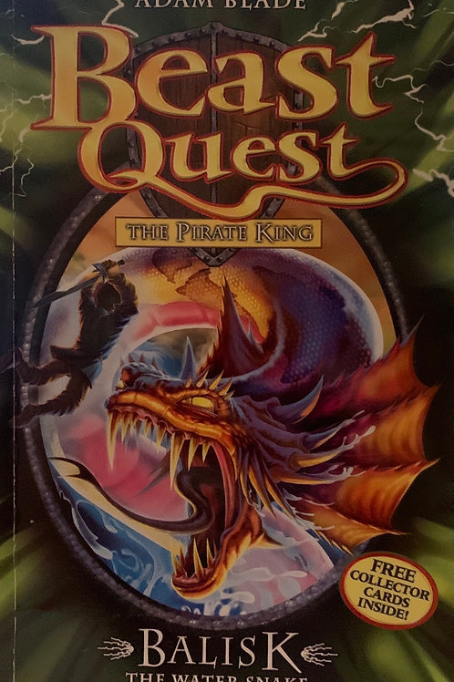 Beast Quest The Pirate King Balisk The Water Snake