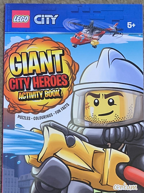 Lego city Giant City Heroes Activity Book