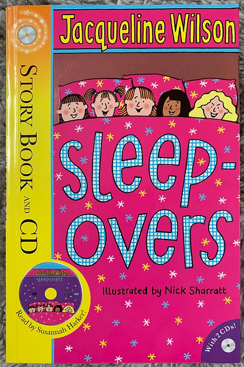 Sleepovers (Jacqueline Wilson) Story Book and CD