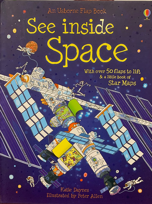 An Usborne Flap Book See inside Space