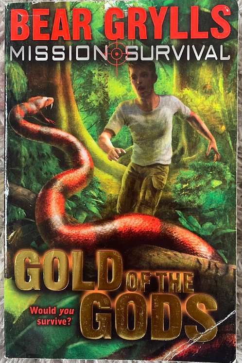 Bear Grylls Mission Survival Gold of the Gods