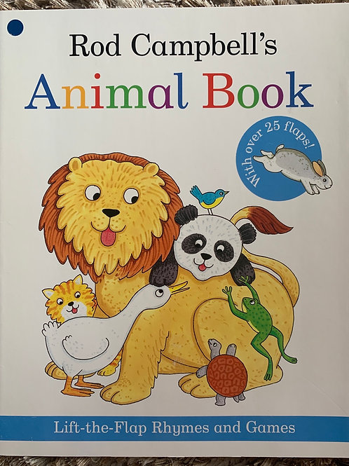 Rod Campbell's Animal book - Lift the Flap Rhymes and Games