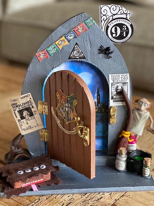 Wizard Themed Fairy Door
