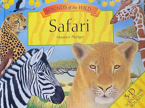 Sounds of the Wild - Safari POP up Book