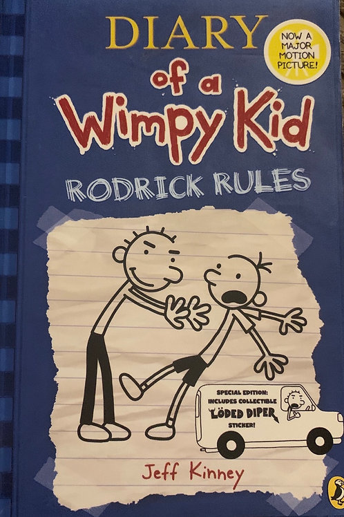 Diary of a Wimpy Kid Rodrick Rules - Jeff Kinney