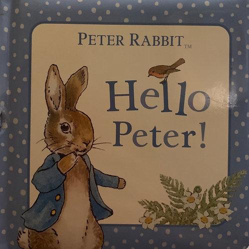 Peter Rabbit Hello Peter