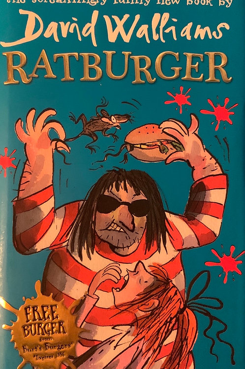 Ratburger ( David Walliams ) Hardback