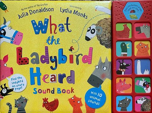 What the Lady Bird Heard Sound Book