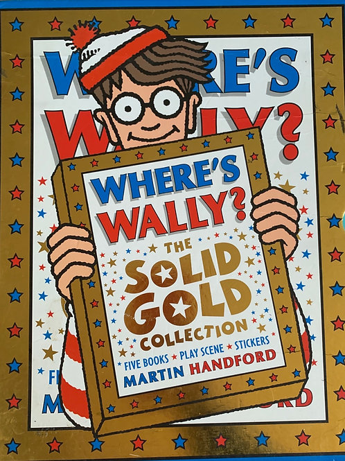 Where's Wally The Solid Gold Collection