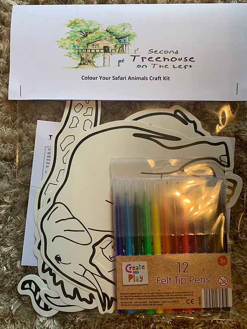 Safari Animal Craft Kit