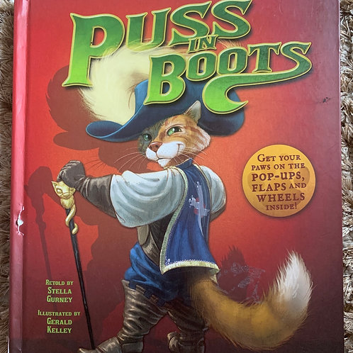 Puss in Boots - Pop up Interactive Book (Hardback)