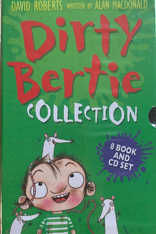 Dirty Bertie Collection 8 Book and CD Set