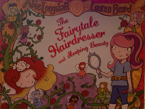 The Fairytale Hairdresser and Sleeping Beauty ( Lauren Beard and Abie Longstaff