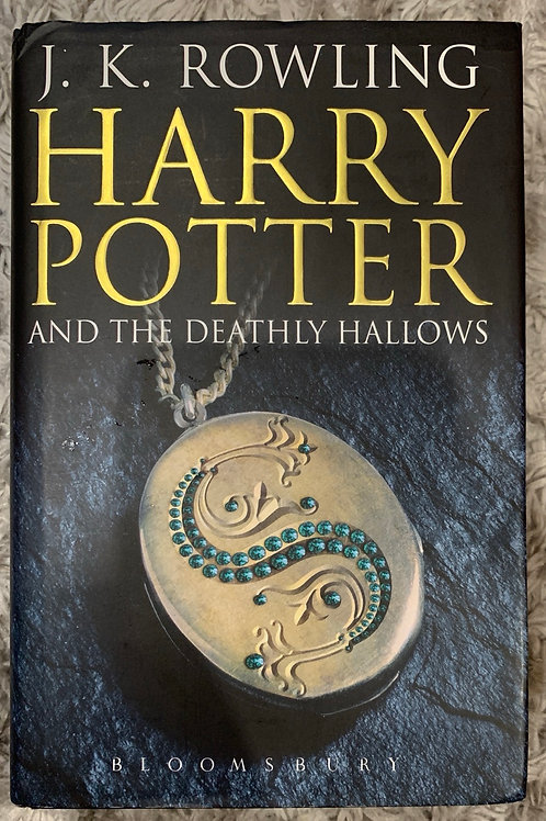 Harry Potter and the Deathly Hallows ( J.K.Rowling) Hardback