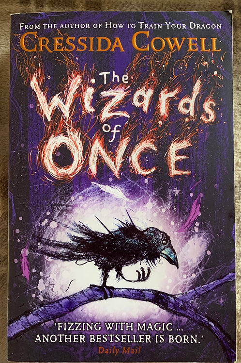 The Wizard of Once ( Cressida Cowell)