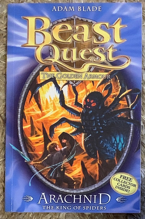 Arachnid The King of Spider - Beast Quest The Golden Armour