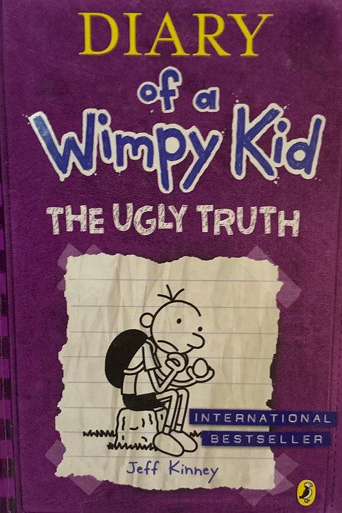 Diary of a Wimpy Kid The Ugly Truth Hardback - Jeff Kinney