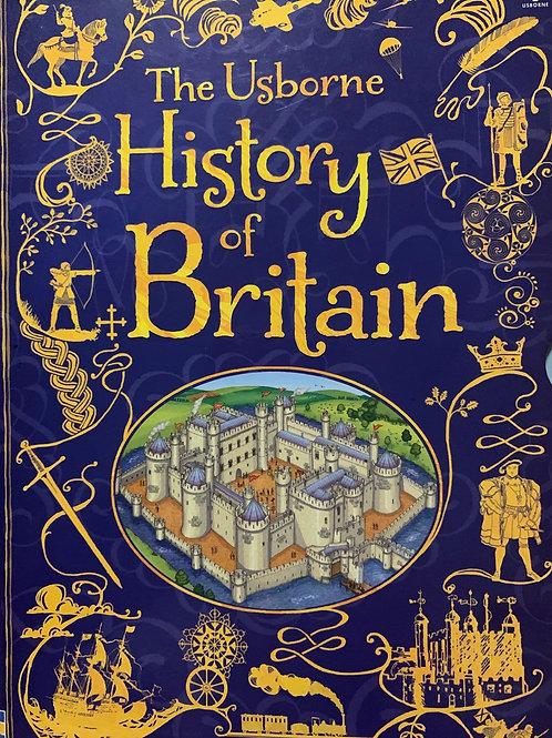 The Usborne History of Britain 10 book Boxset