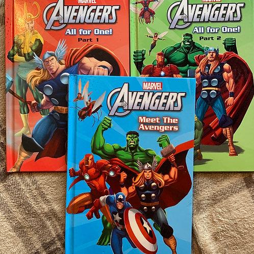 Avengers 3 Book Bundle