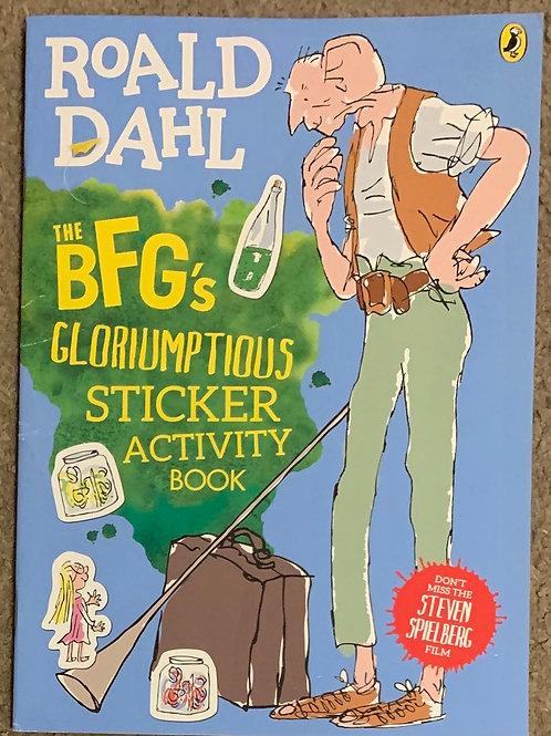 BFG Sticker Book