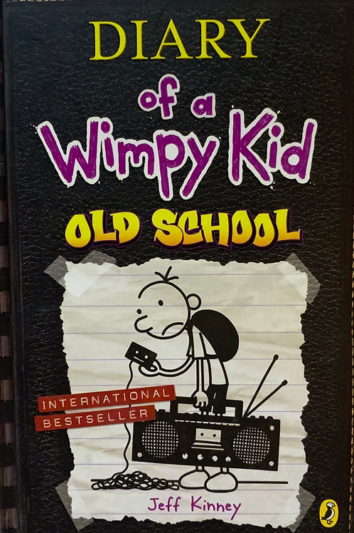Diary of a Wimpy Kid Old School Hardback