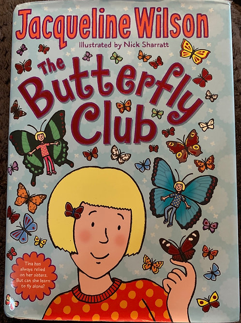 The Butterfly Club Hardback - Jacqueline Wilson