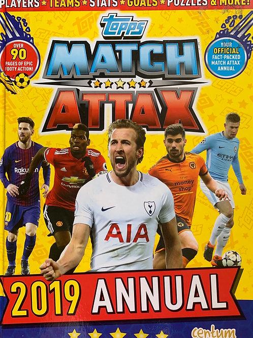 Match Attax 2019 Annual