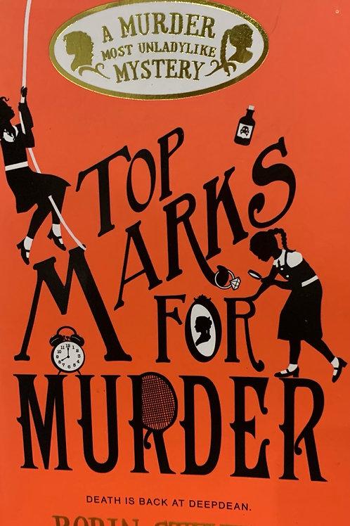 Top Marks for Murder ( Robin Stevens)