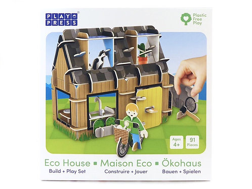 House Eco Friendly Toy Playset