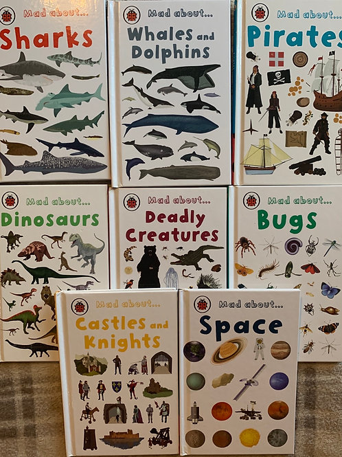 Ladybird Mad about Book bundle 8 Books