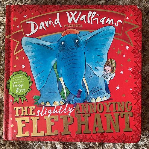 The Slightly Annoying Elephant David Walliams