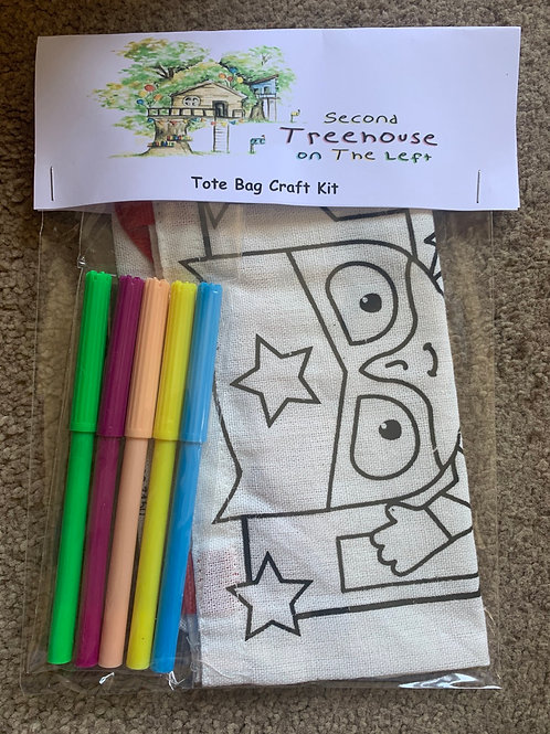 Decorate your own Tote Bag Craft kit