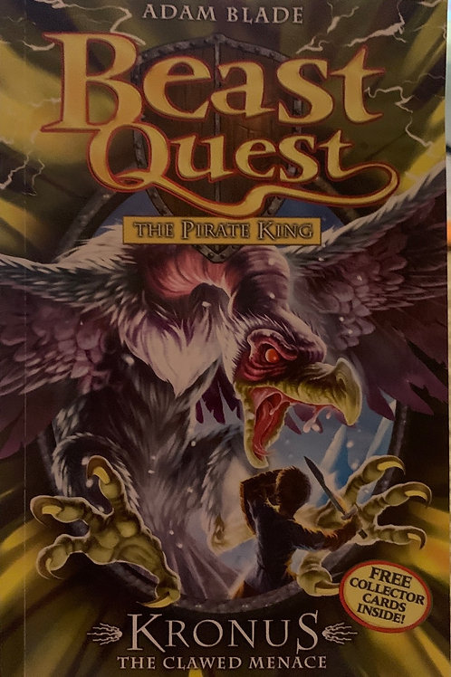 Beast Quest The Pirate Kings Kronos The Clawed Menace