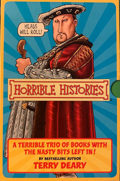 Horrible Histories - A Terrible Trio of Books with the Nasty Bits Left In