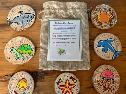 Under the Sea Story Tokens