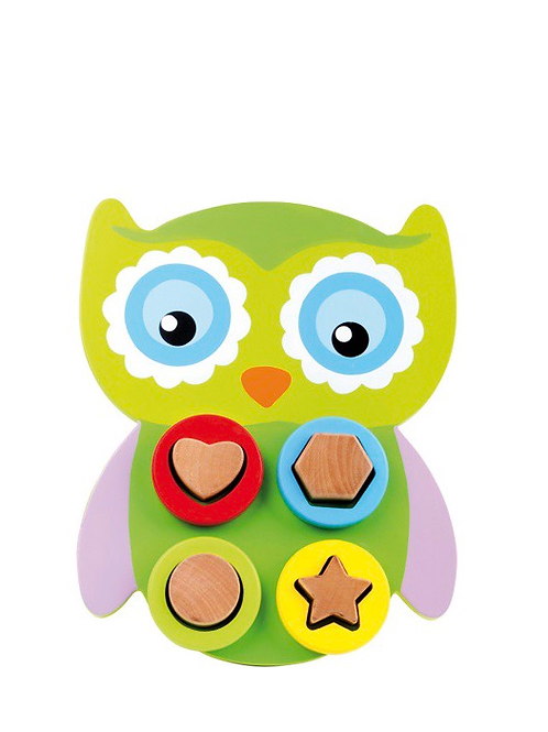 Small Foot Owl Shape Puzzle
