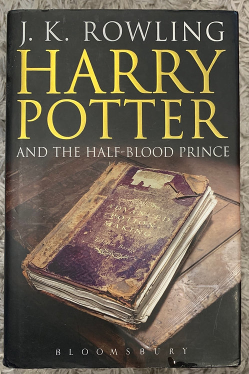 Harry Potter and the Half Blood Prince ( J.K.Rowling) Hardback