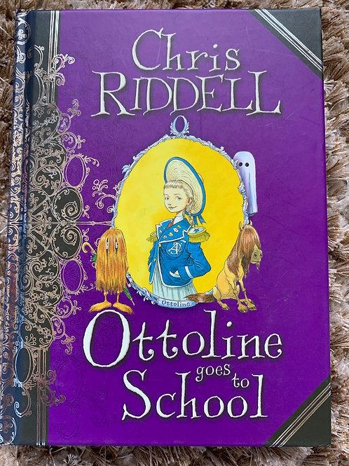 Ottoline Goes To School Hardcover - Chris Riddell