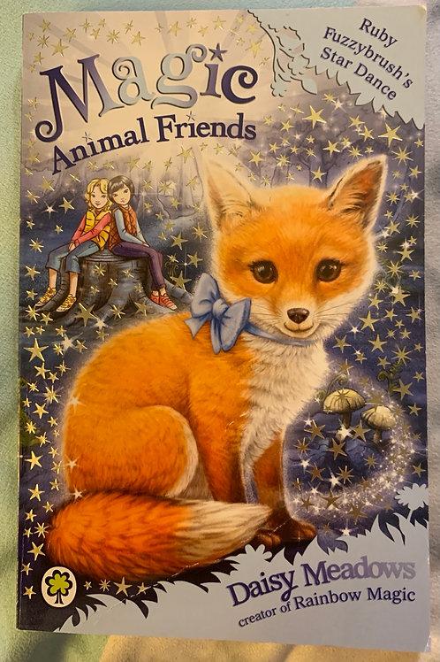 Magic Animal Friends - Ruby Fuzzybrush'a Star Dance