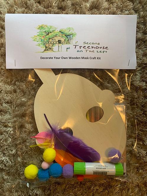 Wooden Mask Craft kit