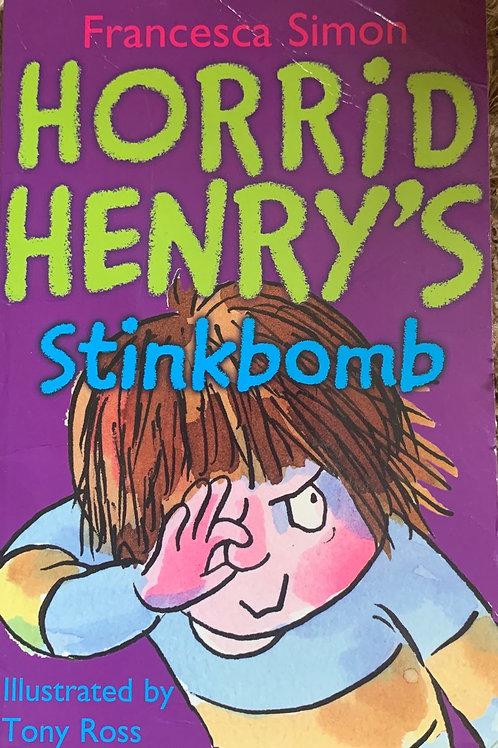 Horrid Henry Stinkbomb