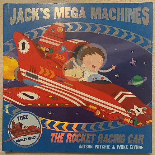 Jacks Mega Machines The Rocket Racing Car